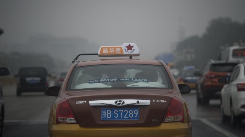 Elektroautos: Smog in der chinesischen Hauptstadt Peking