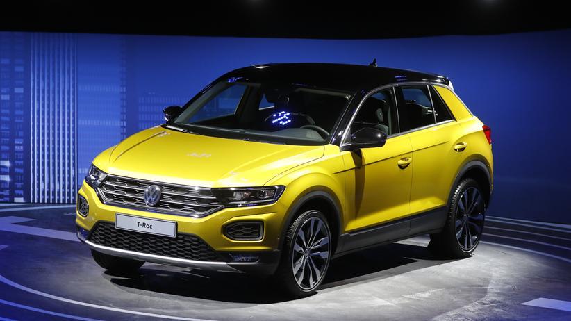 VW T-Roc: Ein T-Roc von Volkswagen auf der diesjährigen IAA in Frankfurt (Main)