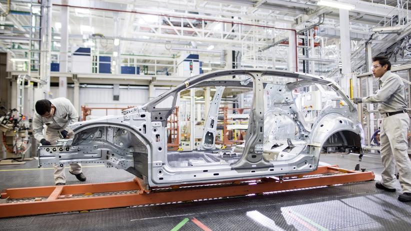 Neuzulassungen: Produktion bei VW