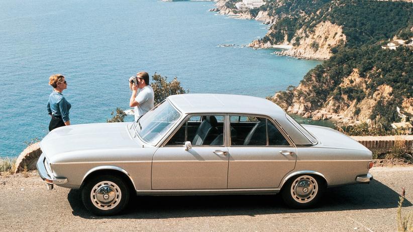 Oldtimer: Der Audi hinterm Vorhang
