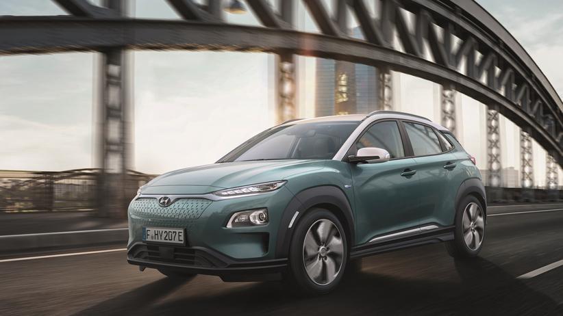 Elektromobilität: Hyundai bringt sein Mini-SUV Kona auch als Elektroauto auf den Markt.