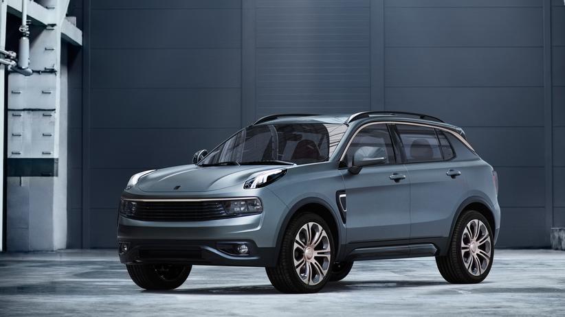 Elektromobilität: Die neue chinesische Automarke Lynk & Co will ihr erstes Modell, 01 genannt, auch nach Europa bringen.