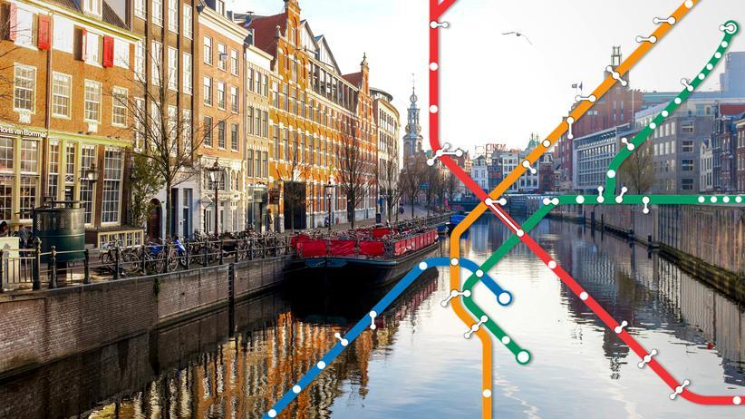 Amsterdam: Emissionslos an der Gracht