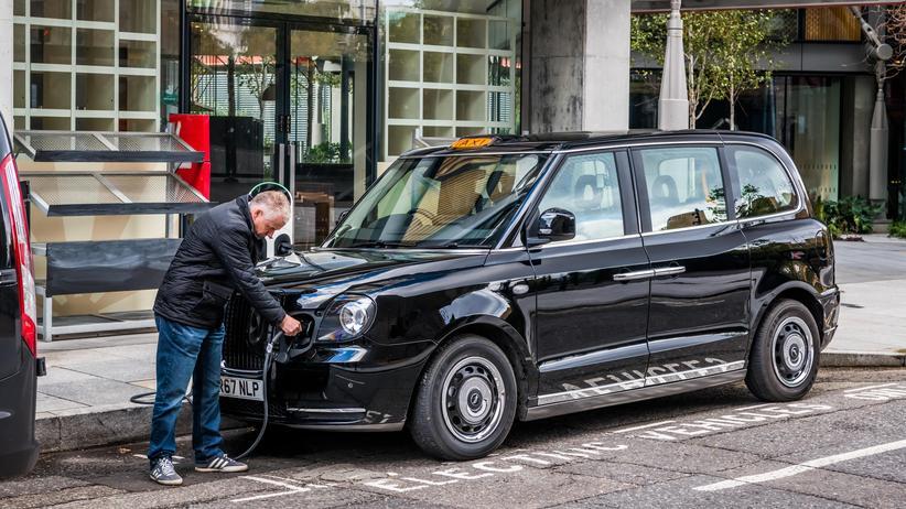 Taxis in London: Eine Ikone bekommt Strom