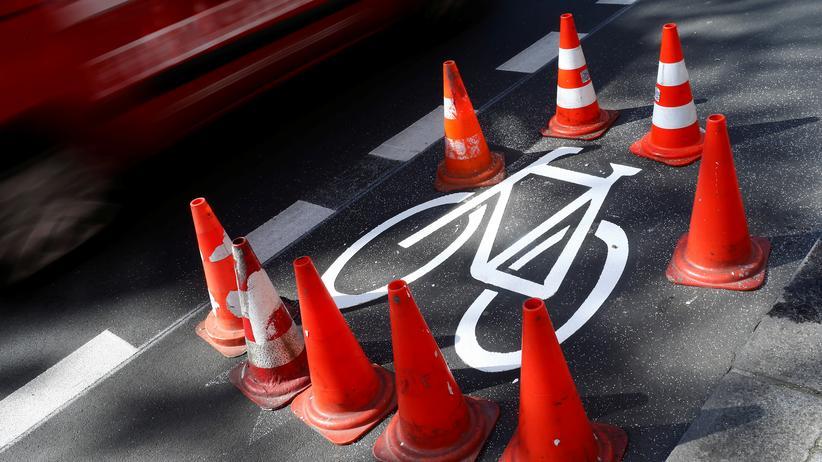 Radfahren in der Stadt: Nur etwas für Hartgesottene.