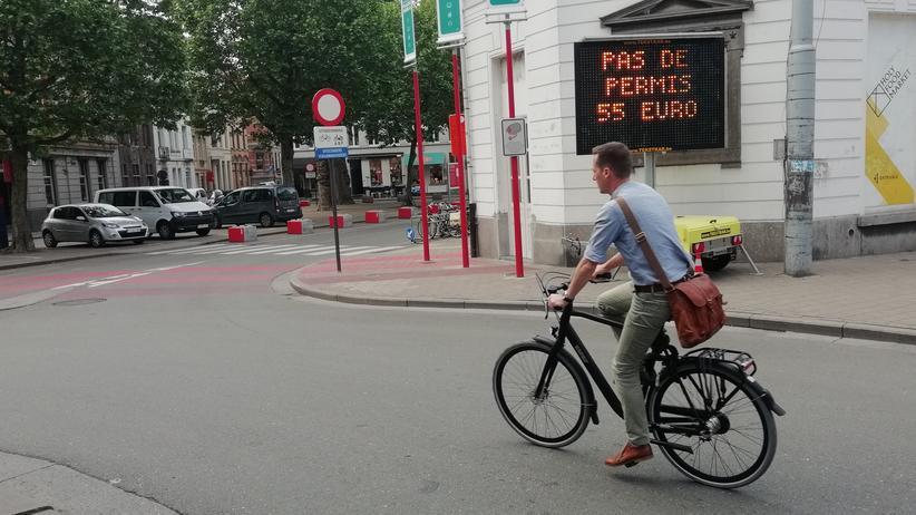 Gent: An der Ottogracht in Gent sind Autos nicht mehr erwünscht.