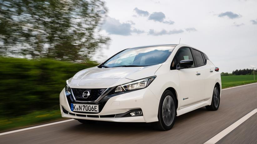 Elektromobilität: Der neue Nissan Leaf hat ein gefälligeres Design als sein Vorgänger.