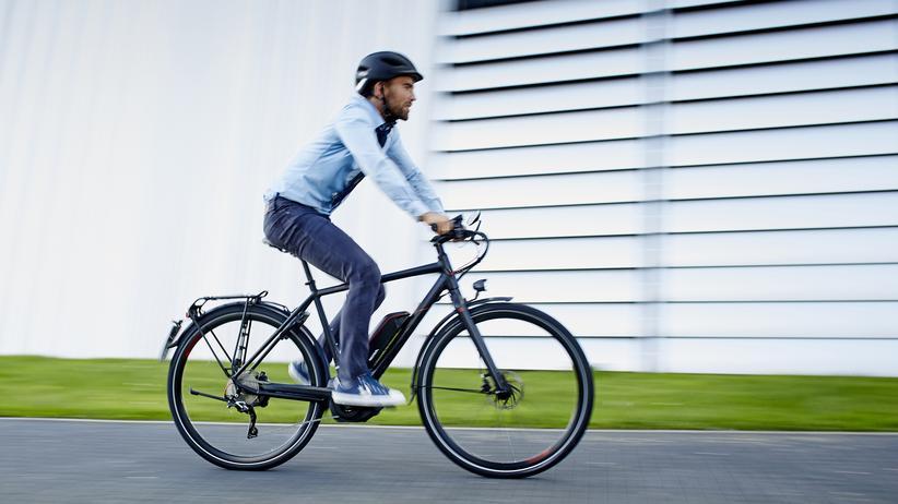 Nicht ungefährlich: Radfahren in der Stadt