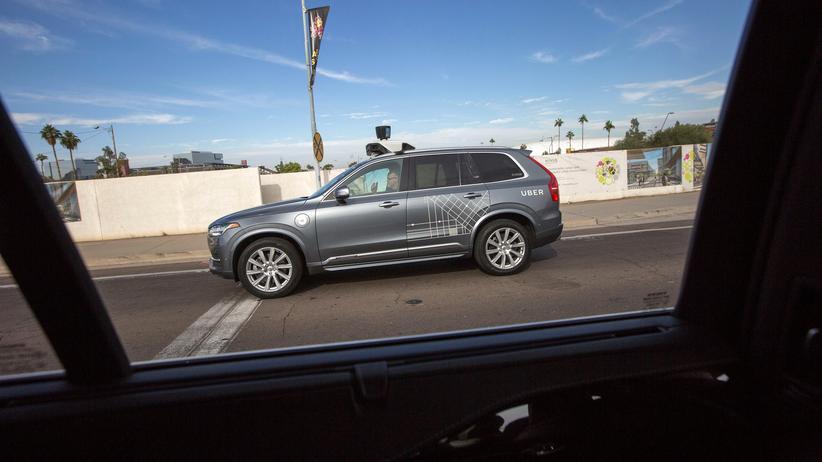 Autonomes Fahren: Uber-Auto fuhr mit deaktivierter Notbremse