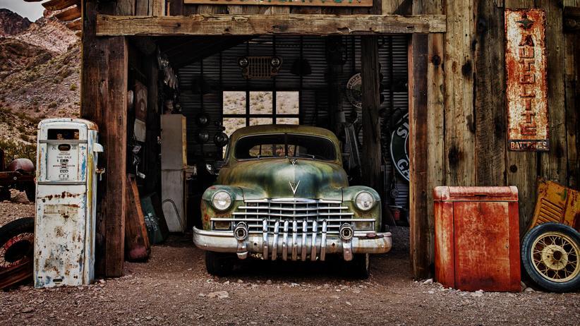 Schrottautos: Die Schönheit des Zerfalls