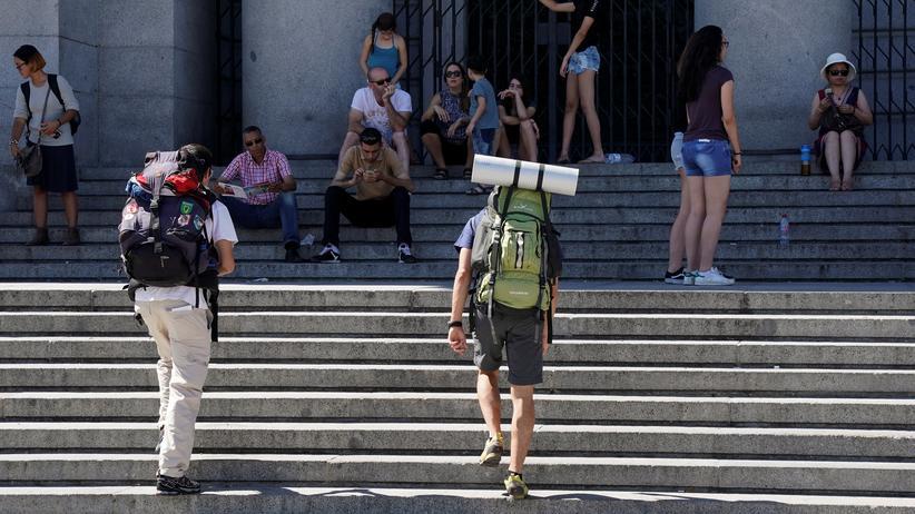 DiscoverEU: Reisende in Madrid