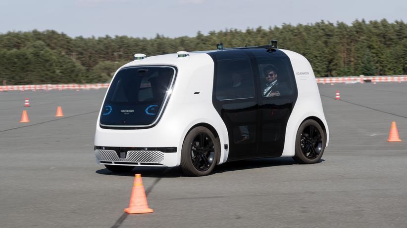 VW Sedric: Der Robo-Chauffeur kommt