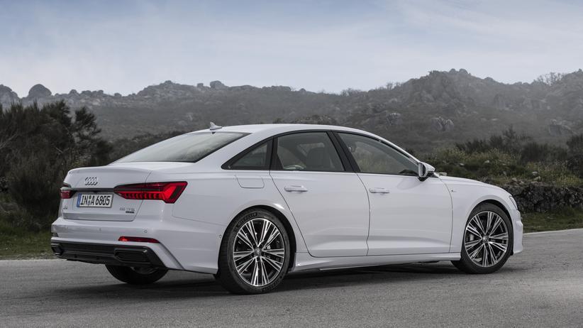 Audi: Die Audi-Businesslimousine A6 wird auch weiterhin vor allem mit Dieselmotor bestellt.