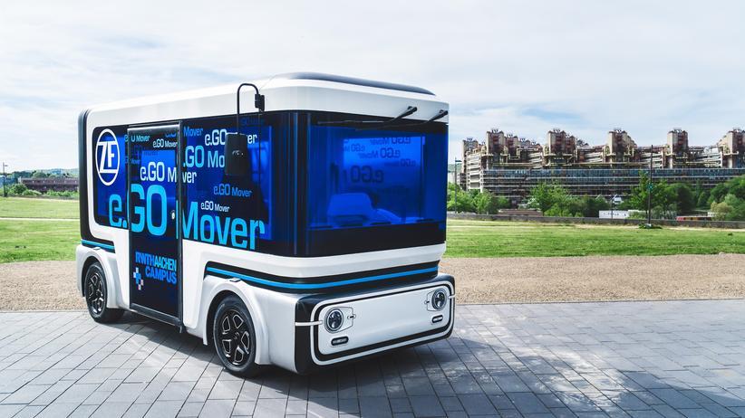 Elektromobilität: Der elektrisch betriebene Kleinbus wurde von ZF und e.GO Mobile entwickelt.