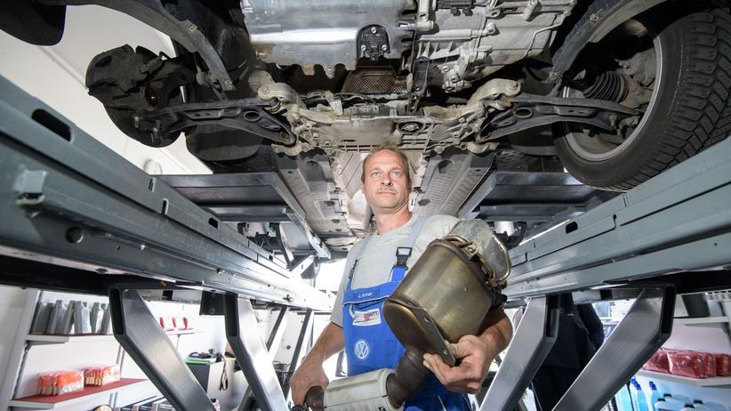 Olaf Scholz: Finanzminister will kein Steuergeld für Dieselnachrüstung geben