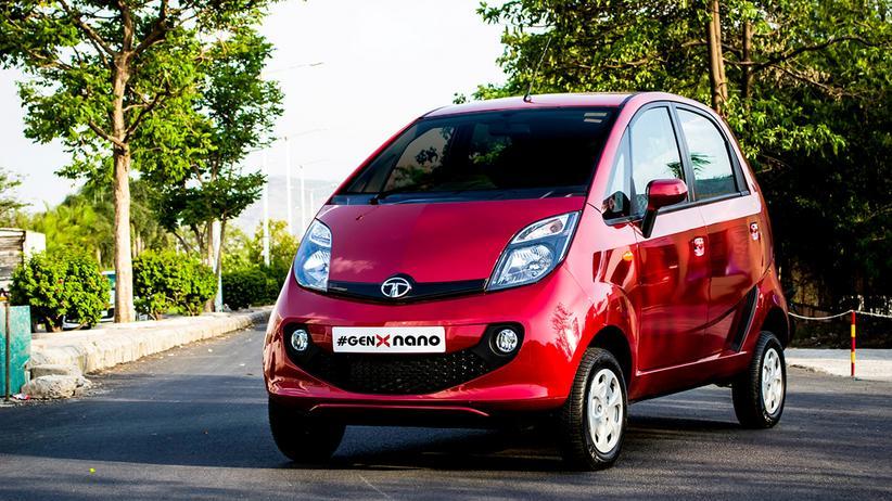 Tata Nano: Auch die verbesserte Neuauflage als GenX Nano war kein Erfolg.