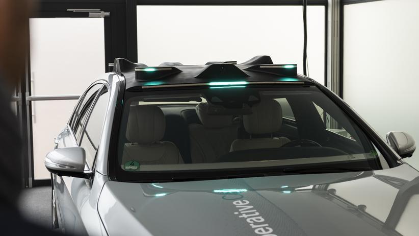 Autonomes Fahren: Wenn das Auto zwinkert