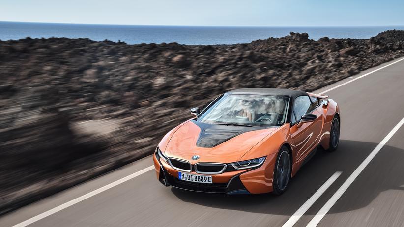 BMW i8 Roadster: Sparsamer Sportwagen-Spaß