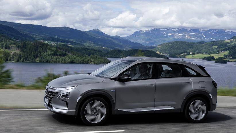 Hyundai Nexo: Wasserdampf aus dem Auspuff