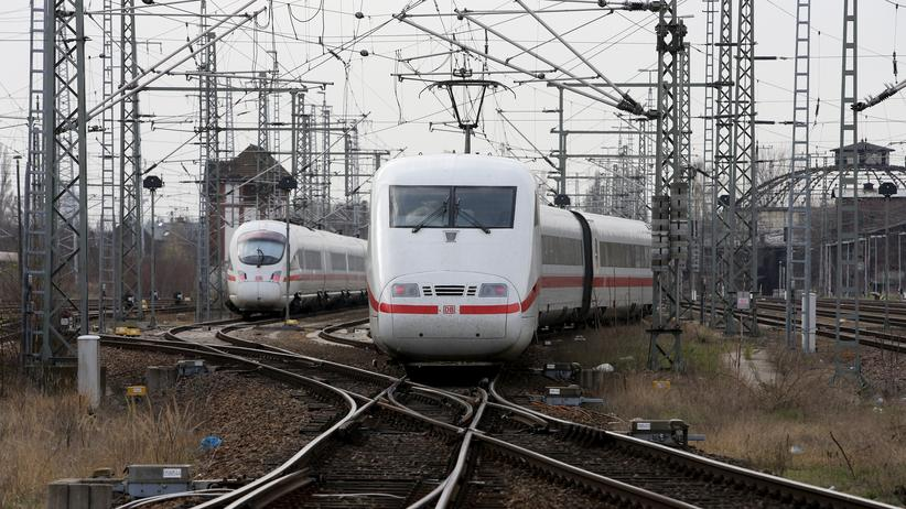 Züge der Deutschen Bahn in Berlin
