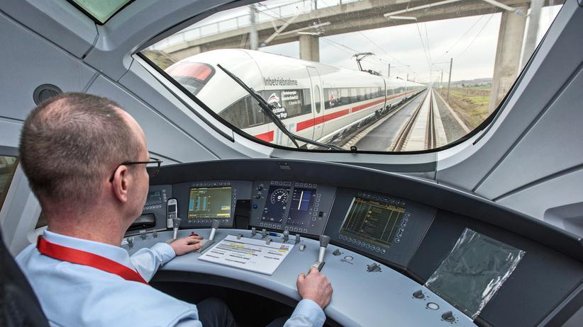 Deutsche Bahn: Blick in einen ICE-Zug der Deutschen Bahn