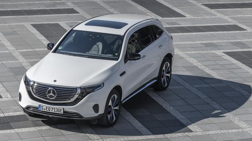 Das SUV Mercedes-Benz EQC ist im Kern ein GLC mit Batterie.