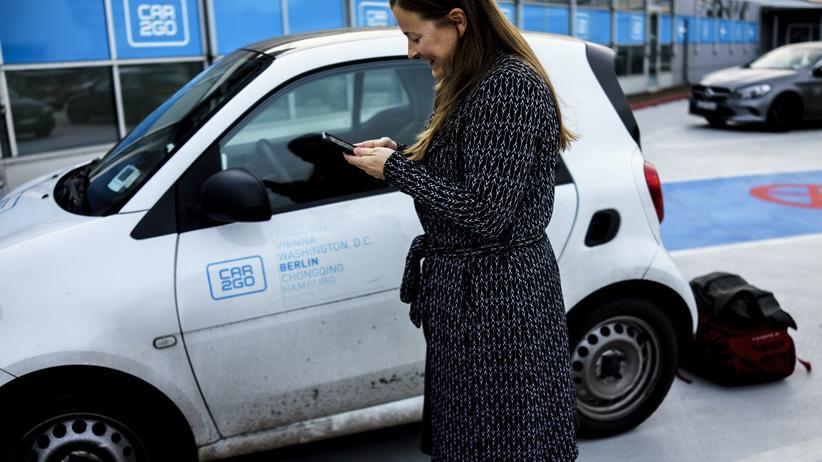 Nachhaltigkeit: Immer mehr Menschen nutzen Carsharing