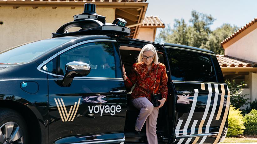 Autonomes Fahren: Der Mobilitätsdienstleister Voyage hat Senioren als Zielgruppe für Roboterautos entdeckt.