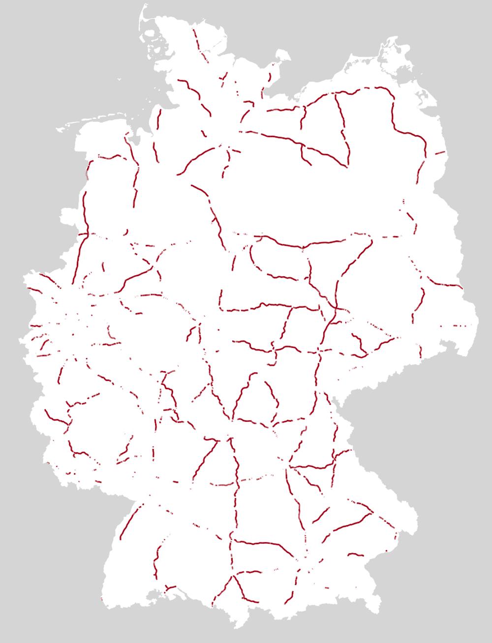 tempolimit autobahn deutschland karte Autobahn: Wo Deutschland rast | ZEIT ONLINE