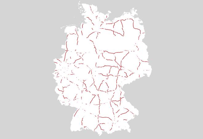 Geschwindigkeitsbegrenzung Autobahn Deutschland Karte.Autobahn Wo Deutschland Rast Zeit Online