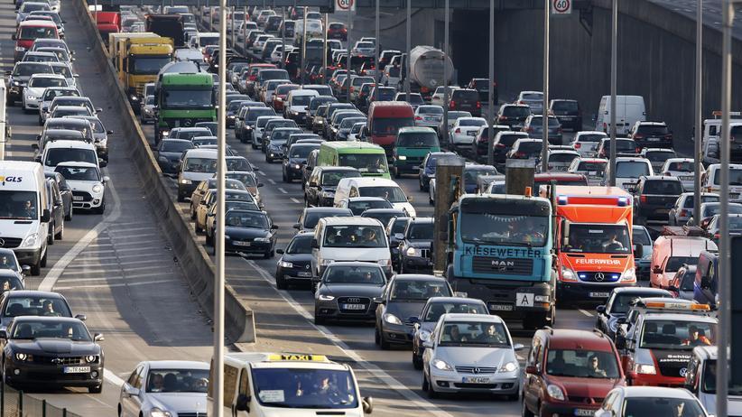 Straßenverkehr: Die Stau-Hauptstädte Deutschlands