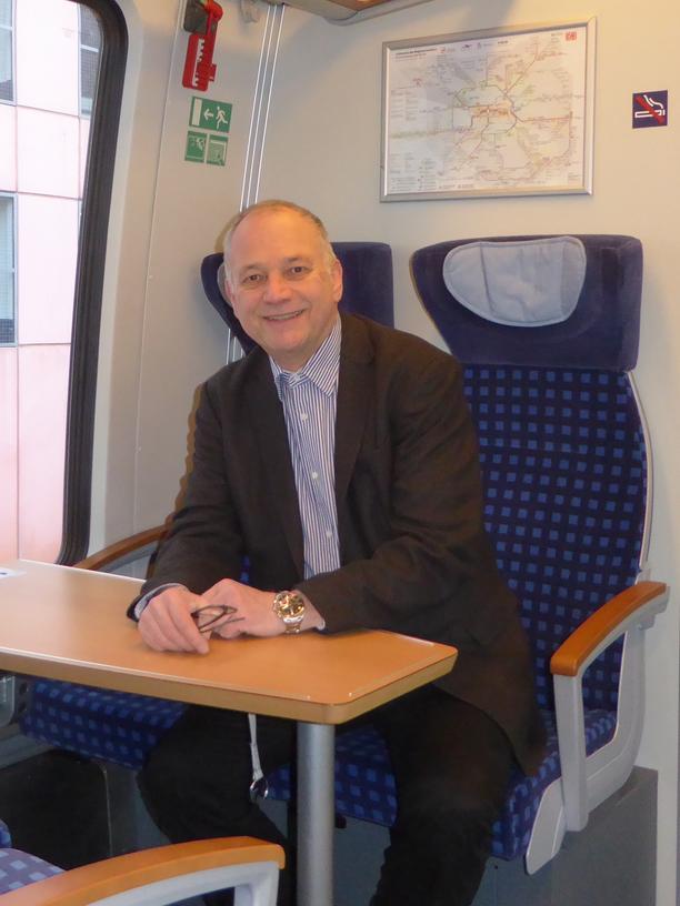 Hans Leister, Mitgründer der Initiative Deutschlandtakt