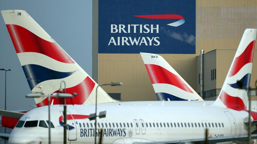 Pilotenstreik: British Airways-Flugzeuge am Londoner Flughafen Heathrow
