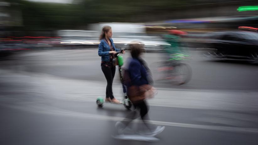 E-Tretroller: In der Unfallstatistik werden Elektroroller erst 2020 auftauchen.