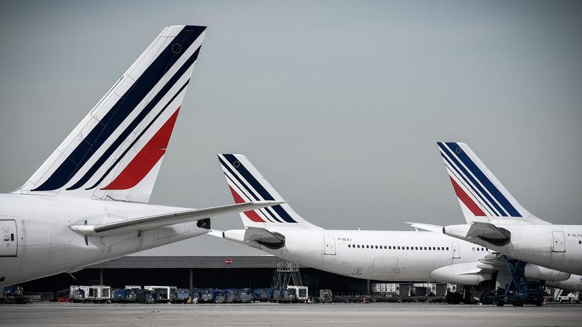 Flugverkehr: Air France will CO2-Ausstoß kompensieren