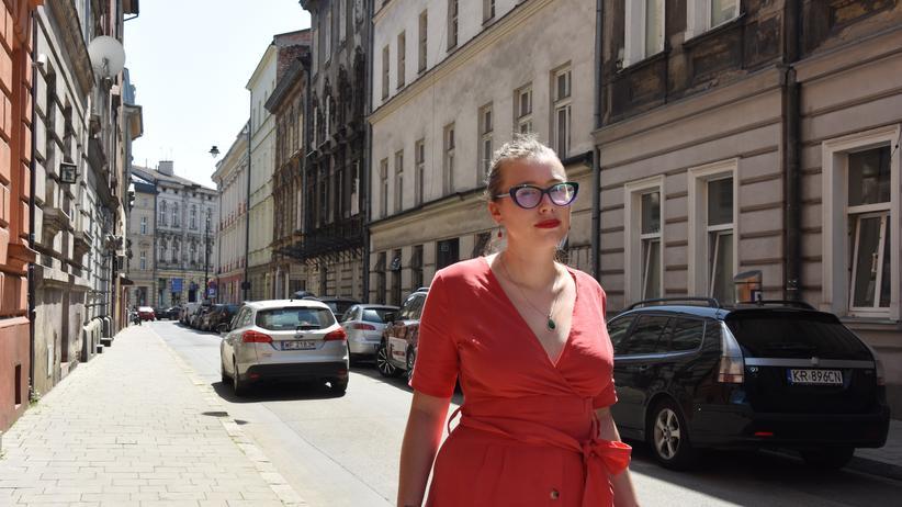Dieselfahrzeuge: Magda Kozłowska setzt sich für saubere Luft ein.