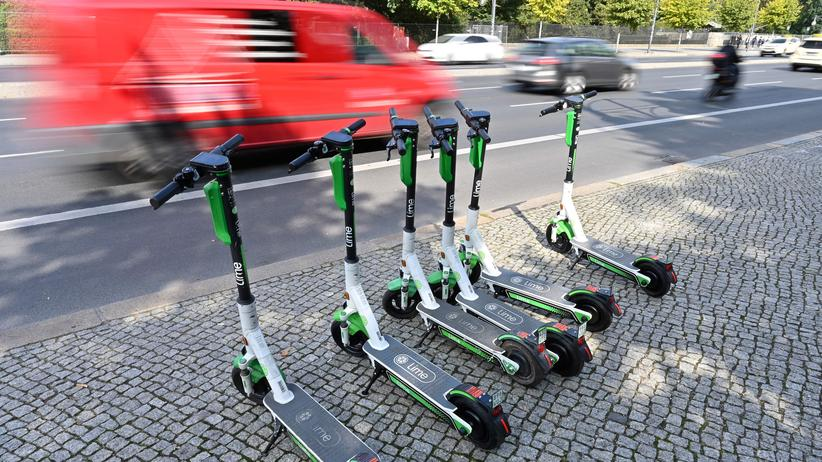 E-Scooter in Berlin