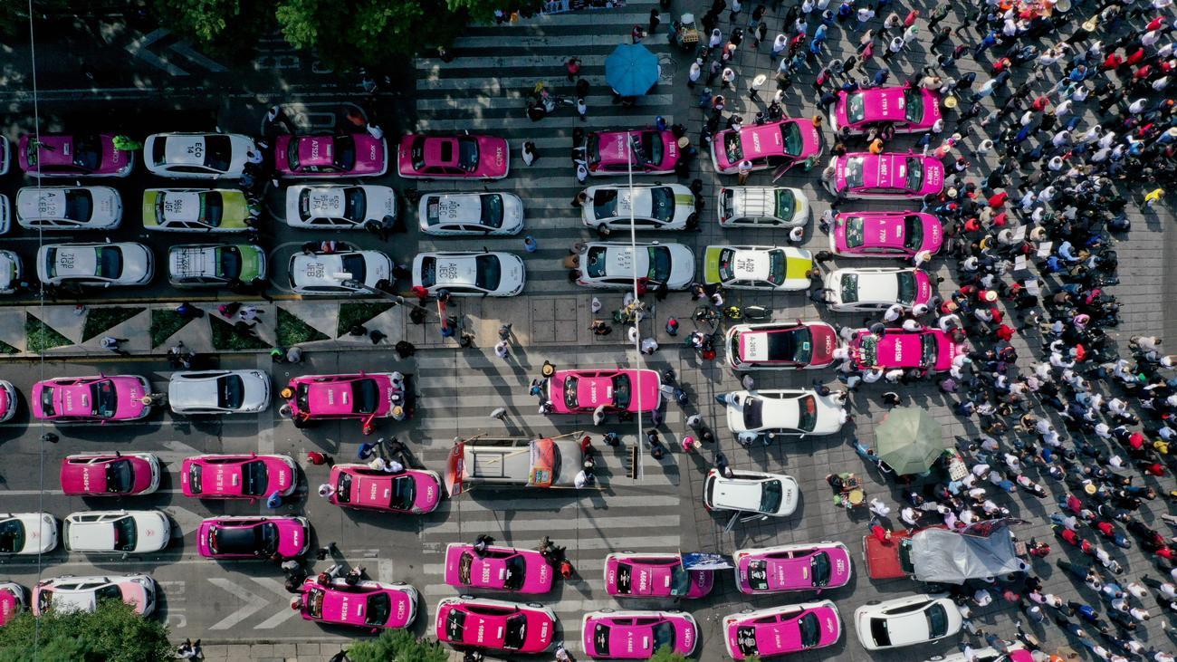 """Taxis: """"Die Situation der Taxifahrer kann sich eigentlich nur verbessern"""""""