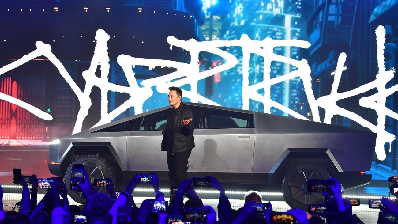 "Cybertruck: Tesla stellt Elektro-Pickup ""Cybertruck""vor"