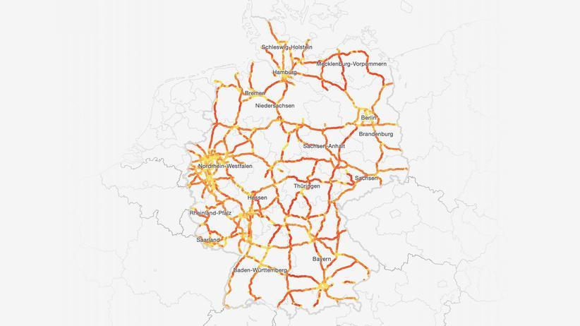 Autobahn: Wo Deutschland rast