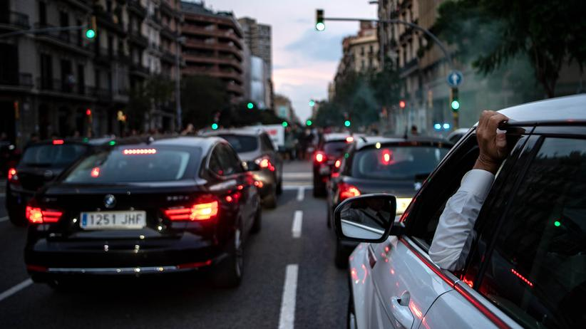 Fahrverbote: Für alte Autos gelten in Barcelona nun vielerorts Fahrverbote.
