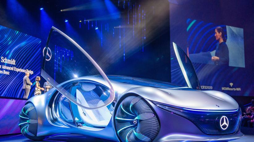 Mercedes AVTR: Insektenautos