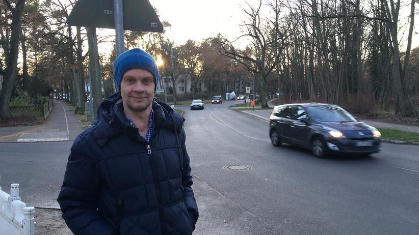 Navis: Michael Ortmann, lärmgeplagter Anwohner der Schildower Straße in Berlin