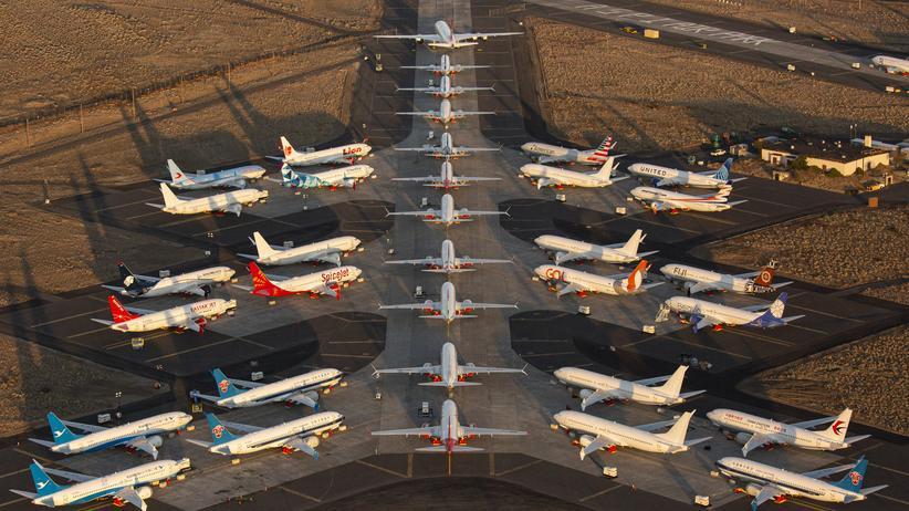 Boeing: Stolz am Boden
