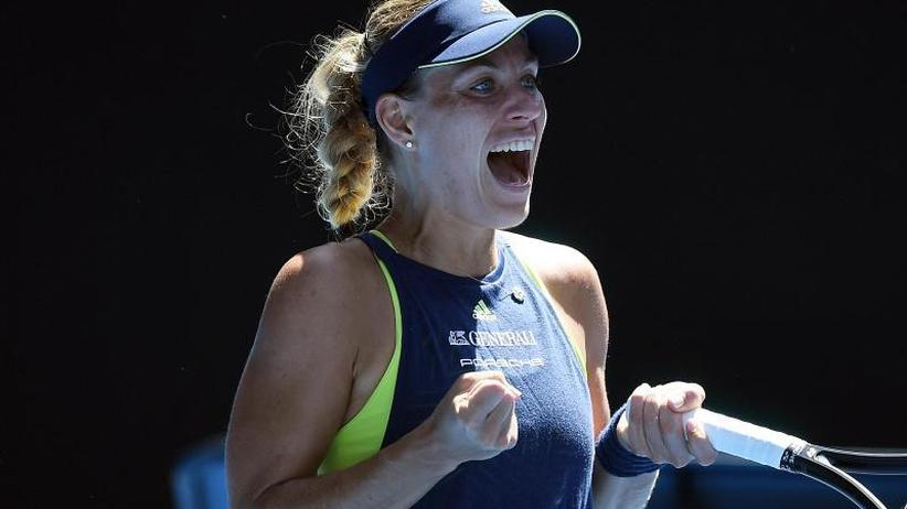 Nun gegen Madison Keys: Angelique Kerber beißt sich in Australien durch