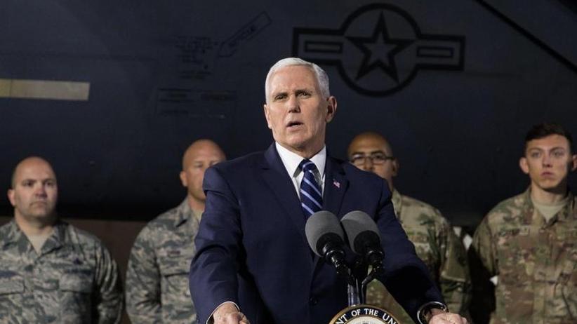 US-Außenminister in Israel: Pence: US-Botschaft zieht vor Ende 2019 nach Jerusalem um