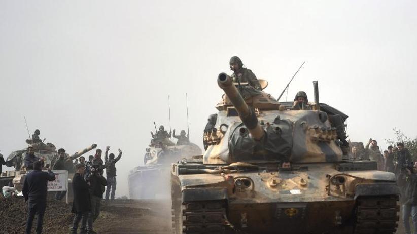 IS soll Ziel bleiben: Türkei setzt offensichtlich deutsche Panzer in Syrien ein