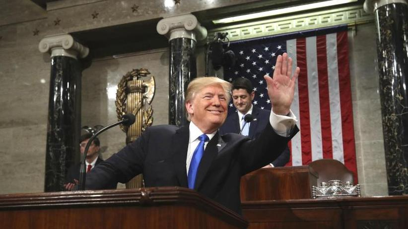 Dokumentation: Auszüge aus Trumps Rede zur Lage der Nation