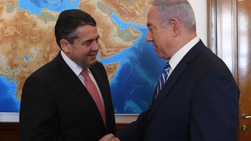 Neun Monate nach Eklat: Gabriel erklärt Streit mit Netanjahu für ausgeräumt
