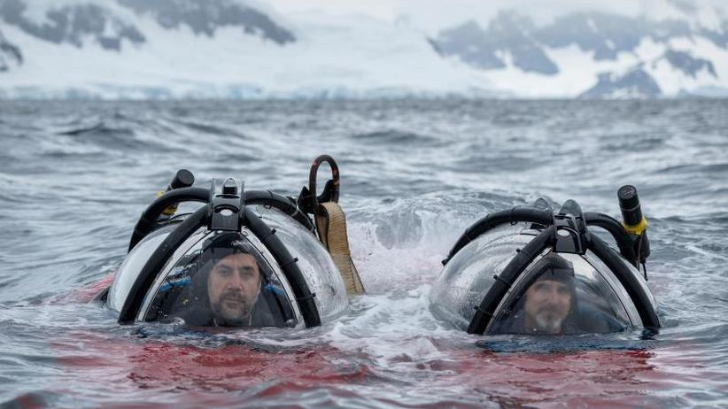 Down Under: Javier Bardem taucht in der Antarktis ab